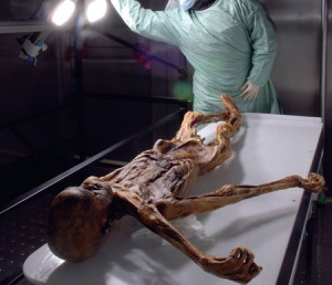 Scientist examine the remains of the past to develop new medicines, said researcher Marek Janko. © South Tyrol Museum of Archaeology