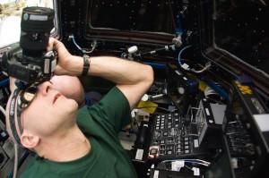Don Pettit on ISS May 25, 2012.  Image Credit: NASA