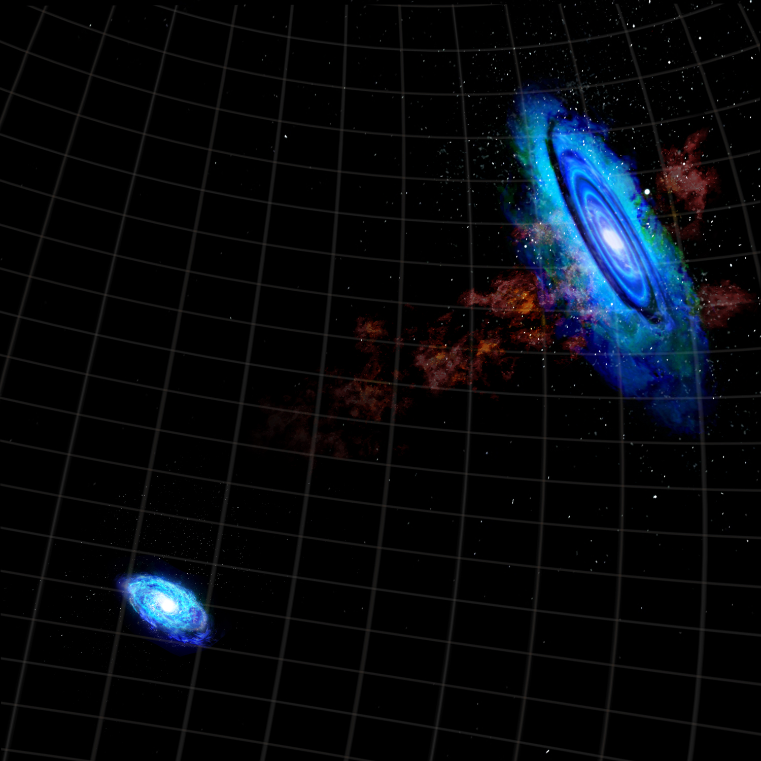 Andromeda Galaxy as Local Group's resident bully | Space ...