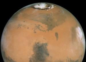 Mars via Hubble.  Image Credit:  NASA