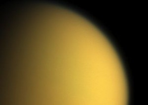 Cassini spacecraft image of Titan