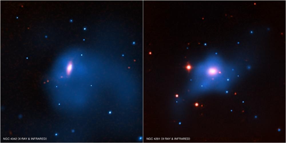 ... NASA/CXC/SAO/A.Bogdan et al; Infrared: 2MASS/UMass/IPAC-Caltech/NASA