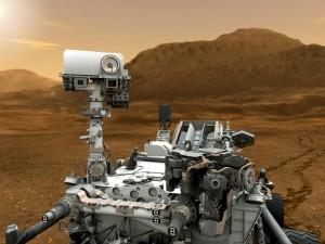 Artist's concept Mars Curiosity rover via NASA/JPL-Caltech