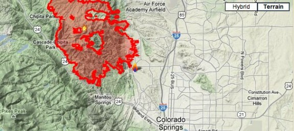 Wildfire in Colorado Springs now 45% contained | Earth