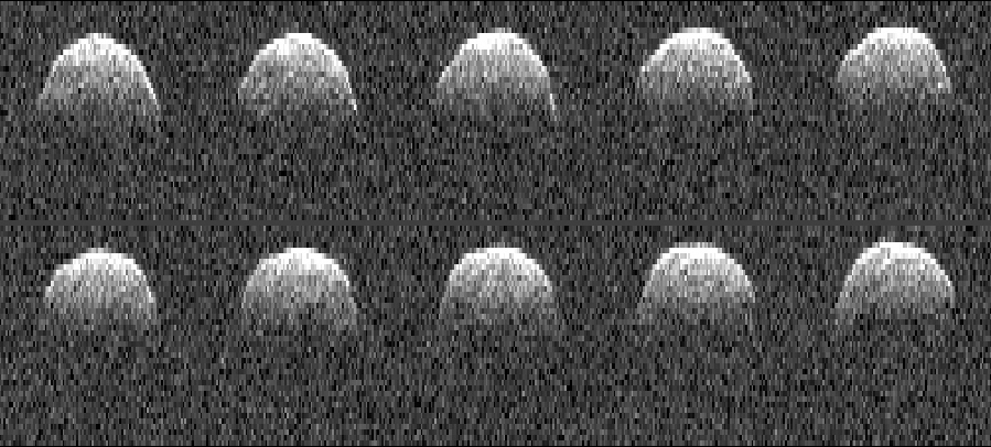 Radar images of asteroid 1999 RQ 36