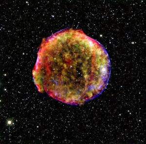 Remnant of Tycho's Supernova
