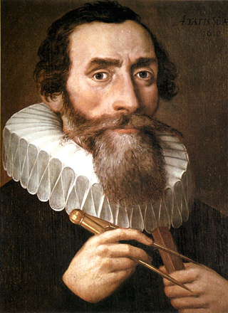 The great Johannes Kepler (1571 to 1630)