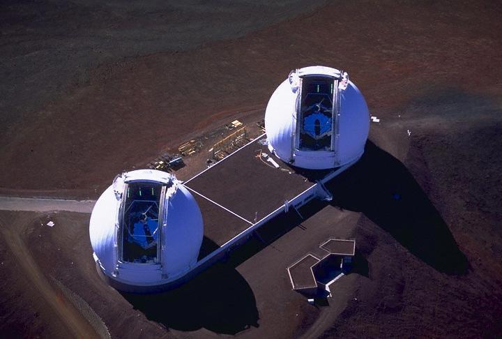 The Keck Interferometer