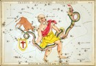 Ophiuchus the Serpent Bearer via Wikimedia Commons.