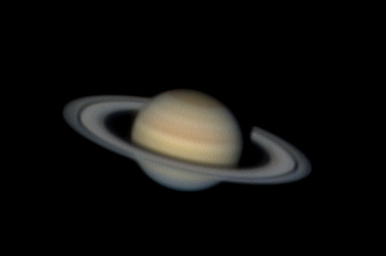 Image credit of Saturn, sixth planet from sun: Steve A. Hill