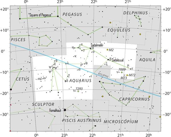 Aquarius? Here's your constellation   Astronomy Essentials