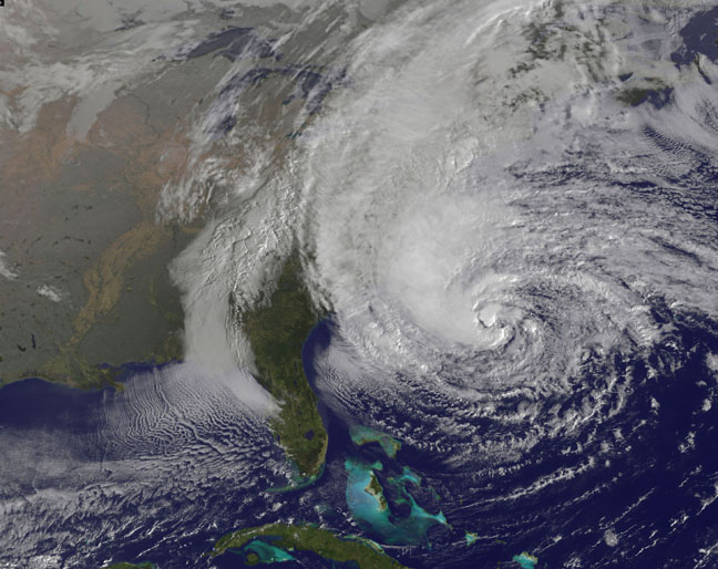 32-Foot-Plus Waves From Hurricane Sandy Topple Records