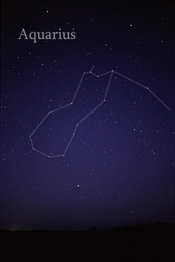 Another Way To See The Constellation Aquarius Notice The Bright Star Fomalhaut Below It Image Via Allthesky