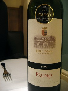 Real wine, with an unfortunate moniker. (It's some kind of shrub in Italian) Image: Jeremy Keith.