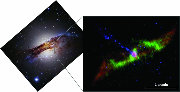 Radio observation of spiral arms in Cen A
