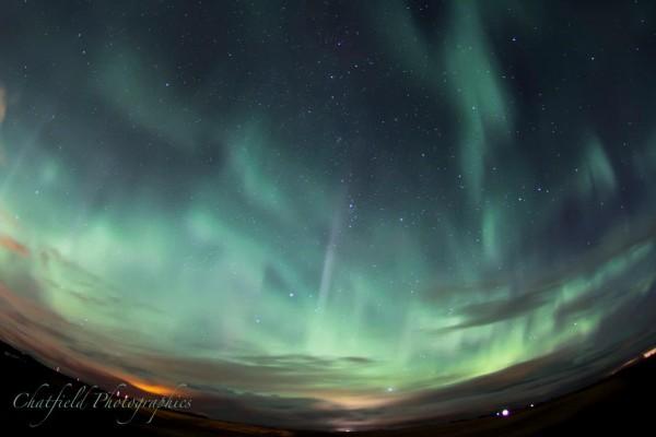 October 8-9, 2012 aurora via Colin Chatfield