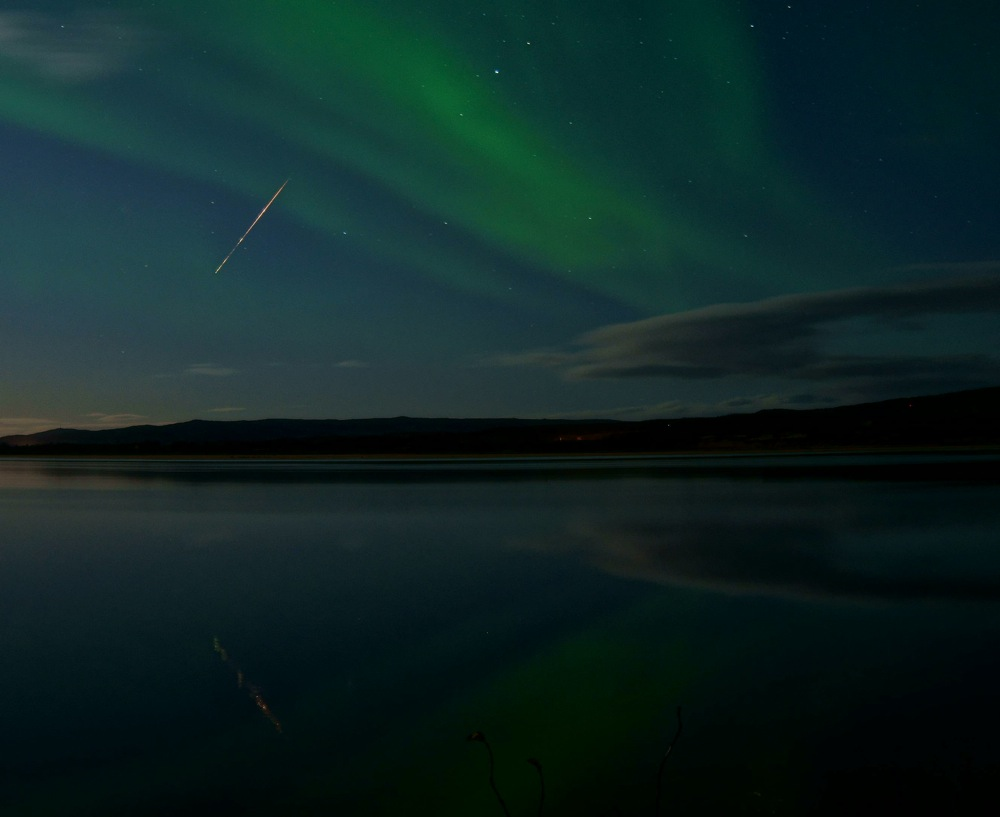 draconid meteor shower 2013 photo