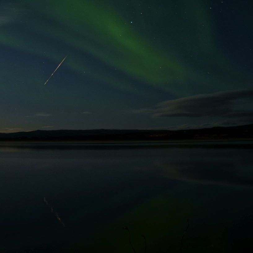 Legendary Draconid meteors peak after sunset October 8 Draconid_meteor