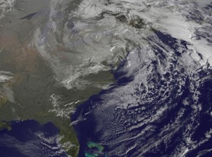 Hurricane Sandy struck the U.S. mainland on October 29, 2012