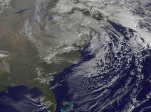 Hurricane Sandy struck the U.S. mainland on October 29, 2012