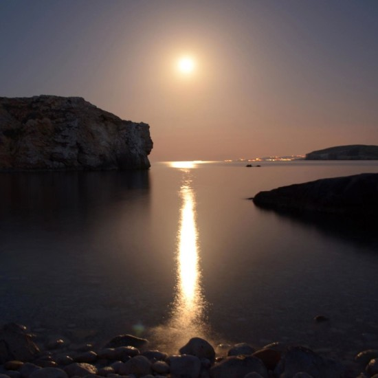 View larger. | Last year's Hunter's Moon by EarthSky Facebook friend John Michael Mizzi on the island of Gozo