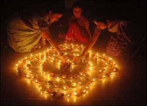 Diwali is a Hindu festival of lights.