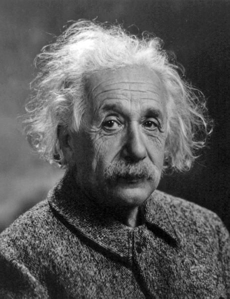 Albert Einstein as an older man.