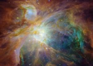 Heart of Orion Nebula via NASA/JPL-Caltech/STScI