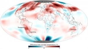September 2012 global climate update via NCDC.