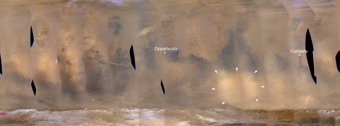 No Global Dust Storm For Mars This Year Space Earthsky
