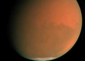 Planet-wide dust storm on Mars in 2001 via NASA