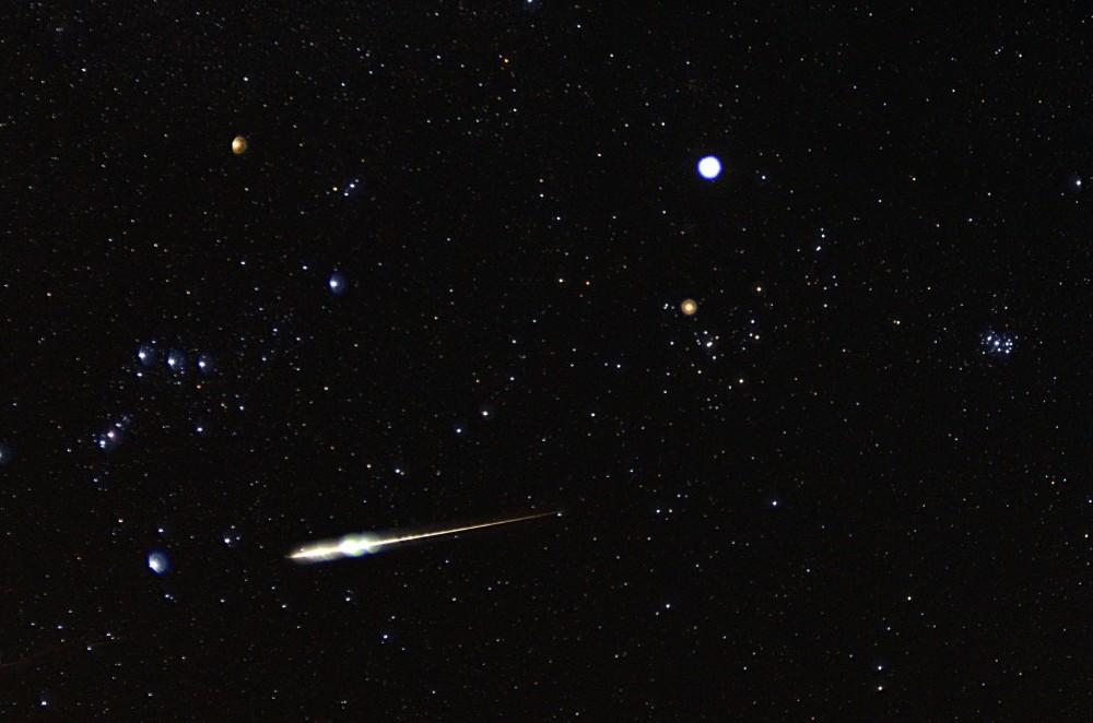 Taurids meteor shower 2013 photo