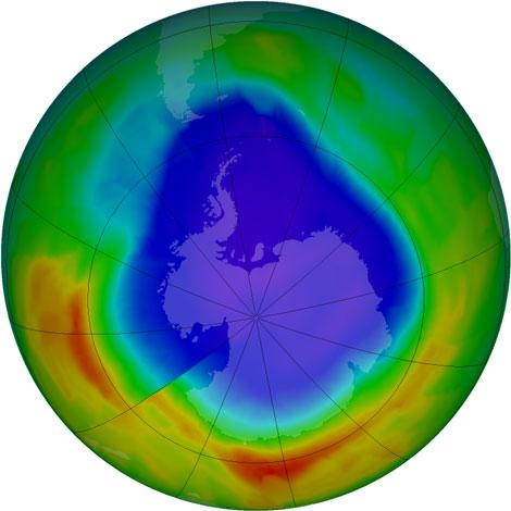 nasa ozone hole - photo #27