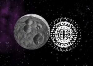 Artist's concept of when paintballs meet asteroid (MIT)