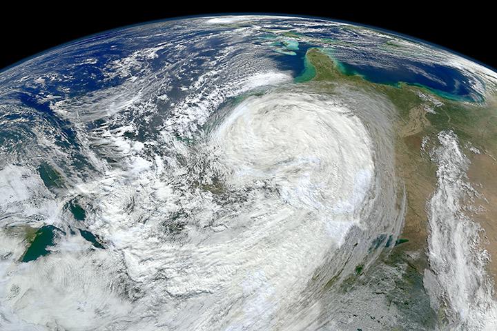 Hurricane Sandy on October 30, 2012
