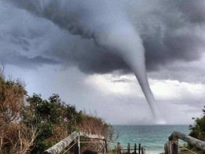 waterspout in Australia by Syne Michael