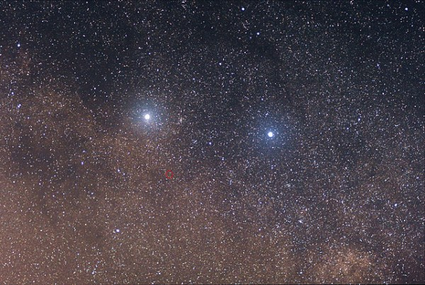 Alpha, Beta, and Proxima Centauri