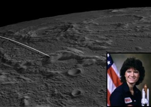 GRAIL crash site named for Sally Ride