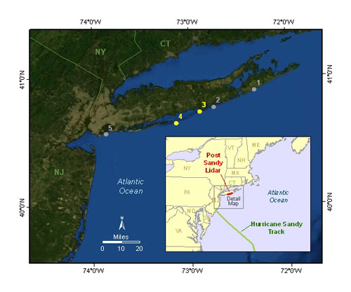 Fire Island Ny: Sandy Caused 30 Years Of Change To NY Coastline