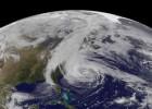 Hurricane Sandy 2012 via NASA