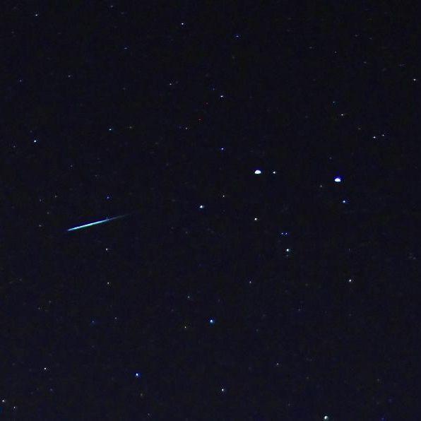 Cold Moon At Geminid Meteor Peak Tonight Earthsky