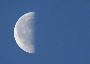 Dec 6 2012 last quarter moon via Lilliana Mendez