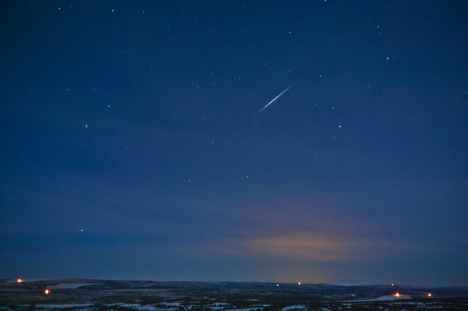 quadrantid meteor shower 2013 photo