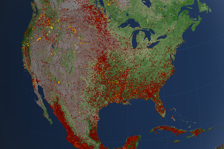 Us Wildfires Map 2012 2012 was an extreme year for wildfires in US | Earth | EarthSky