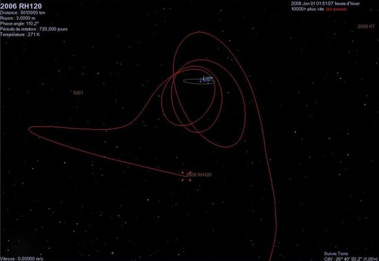 Does Earth have a second moon? 2006-RH120-orbit-e1358339185155