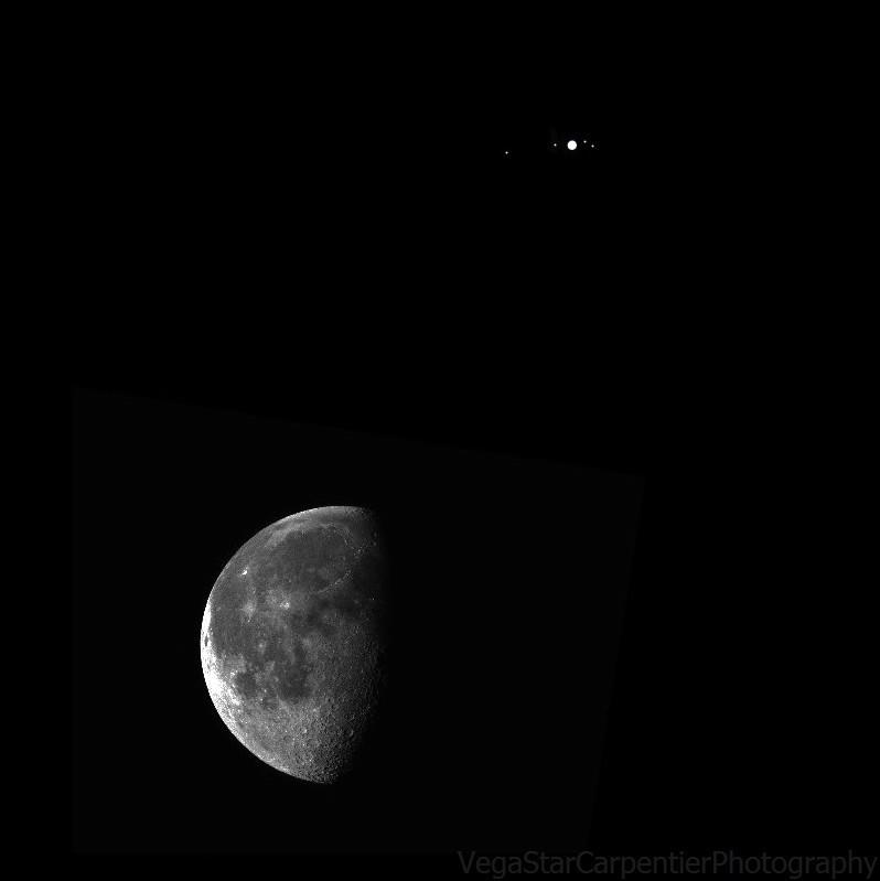 Awesome photos of January 21 Jupiter-moon conjunction, and ...