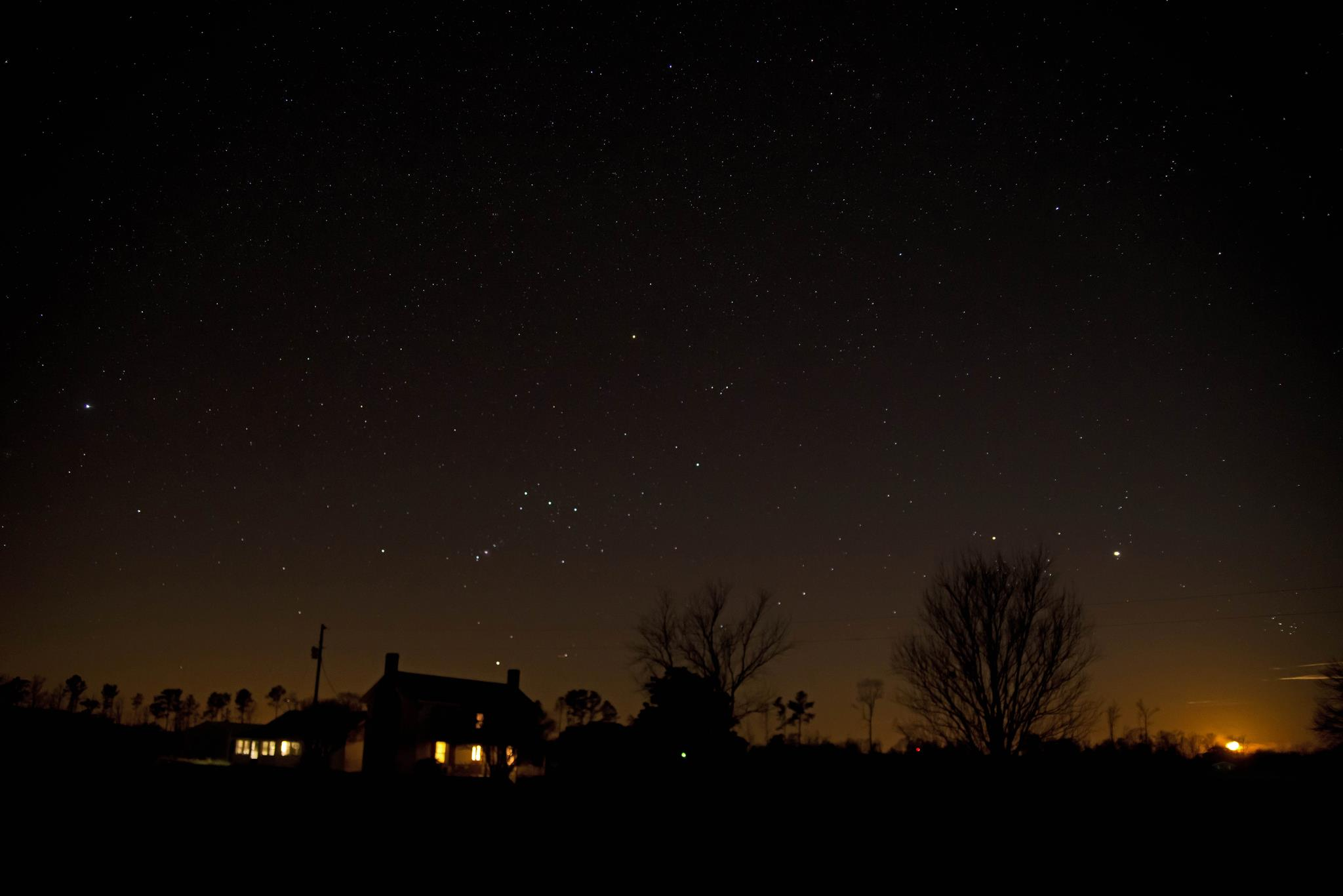Photos of January 21 Jupiter-moon conjunction | Space ...