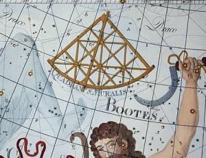 Quadrans Muralis via Atlas Coelestis.