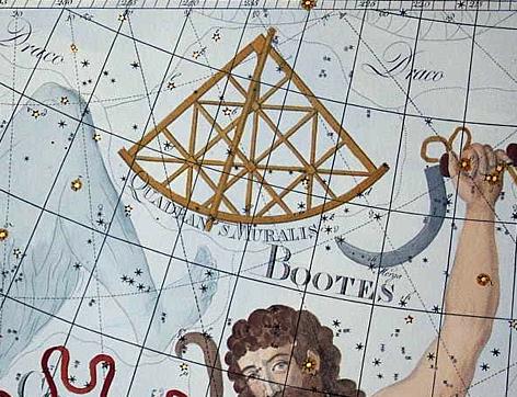 antique constellation picture