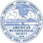 The official seal of the American Meteorological Society.